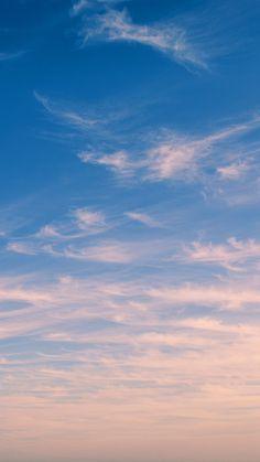 Sky Blue Cloud Nature Sunny Summer #iPhone #6 #plus #wallpaper