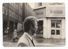 David Bowie in 1983 walking the streets of Soho in London. Previously unseen images released by a lifelong fan.