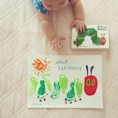 Baby crafts - New Craft Gifts For Grandma Footprint Art Ideas craft Daycare Crafts, Toddler Crafts, Preschool Crafts, Crafts For Kids, Baby Art Crafts, Infant Crafts, Craft Art, New Crafts, Crafts To Do