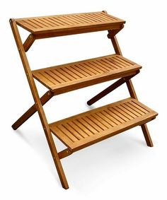 Loving this Wood Plant Stand on #zulily! #zulilyfinds