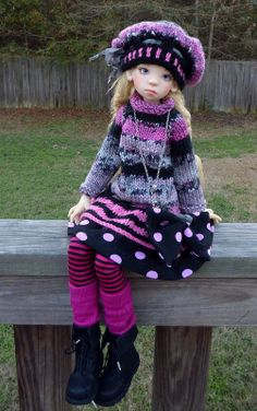 Nelly Kaye Wiggs. Not a Blythe but pretty non the less.