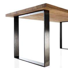 Table de salle manger en bois de sheesham massif l 80 cm for Table salle manger 80 cm largeur