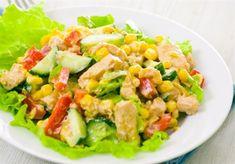 Υπέροχες συνταγές με κοτόπουλο Food Articles, Chicken Salad, Guacamole, Cobb Salad, Mexican, Ethnic Recipes, Gastronomia