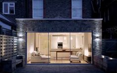Considerate Building : Ground Floor Extension - how I would love to do this Wraparound Extension, Brick Extension, Side Extension, Extension Ideas, House Extensions, Ground Floor, Sliding Doors, Dean, House Ideas