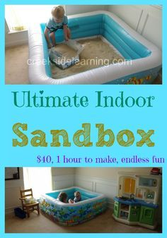 How to Make the Ultimate Indoor Sandbox