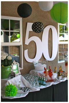 Festa de 50 anos da Shirley Adoro receber nos nossos comentários pedidos de ajuda para organizar, decorar e dar ideias...