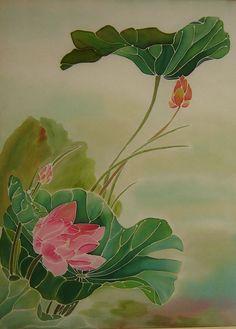 Lotus Flower Painting Jpg 696 972 Mary Day Art