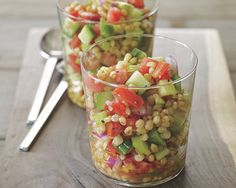 Gazpacho-Style Wheat Berry Salad Recipe (Photo courtesy of Tina Rupp)