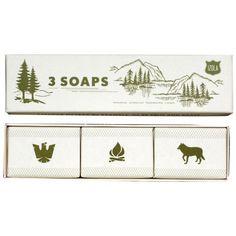Izola 603 Scout Soaps, Set of 3