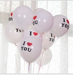 12inch I LOVE YOU  Latex  Globos balloons For  Wedding balloon party Decorations   Inflatable Air Balls Classic toys #clothing,#shoes,#jewelry,#women,#men,#hats,#watches,#belts,#fashion,#style
