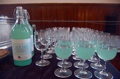 What a unique idea for a baby shower.  You can change the color of the beverage if you know the sex of the child.  Love it!