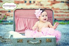 Sweet 6 month session! courtneymoorephotography.com