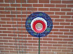 "Look at this wonderful ""garden flower"" my creative mom made. ~Sabrina"
