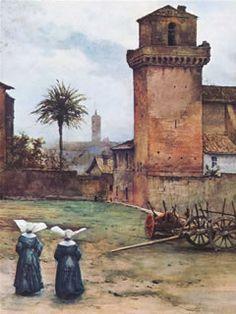 Piazza S. Pietro in vincoli - Ettore Roesler Franz