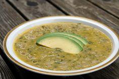 Arvejas con guineo soup (split pea and banana soup) - Ecuadorian Food