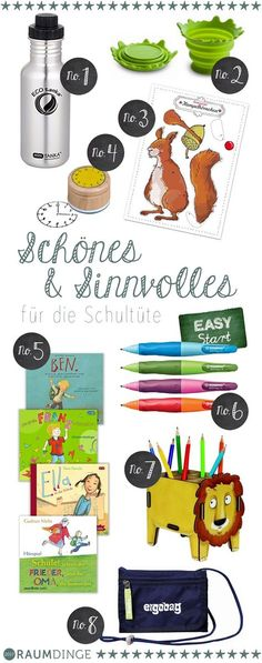 Beautiful and useful for the school bag, gift ideas for school enrollment - Education