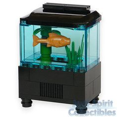 Lego Custom Creation - Aquarium Set with Fish & Plants *NEW* in Toys & Hobbies | eBay