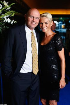 New Zealand cricketer Martin Crowe (pictured with his wife Lorraine Downes at the New Zealand Cricket Awards on April 1, 2015, and cousin of actor Russell Crowe) died on 3 March 2016 in Auckland, NZ after a long battle with lymphoma.
