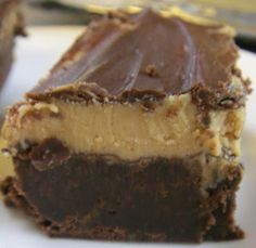 Peanut Butter Fudge Brownies...omg!