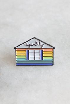 100% of the profits from this pin are donated to Planting Peace in support of LGBTQ rights advocacy. We hope that wearing this pin will serve as an act of solidarity with this cause.