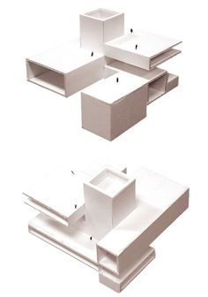 Since 1998 the Web Atlas of Contemporary Architecture Conceptual Model Architecture, Maquette Architecture, Architecture Design, Concept Architecture, Contemporary Architecture, Cubic Architecture, Landscape Architecture, 3d Modelle, Cube Design