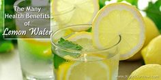 12 Reasons to Drink Lemon Water Daily | Uses & Health Benefits of Lemon Water Drinking Warm Lemon Water, Lemon Water In The Morning, Detox Drinks, Healthy Drinks, Healthy Tips, Healthy Food, Stay Healthy, Healthy Living, Detox Smoothies