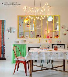 cozinha colorida #kitchen #color #decor #casa