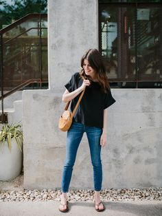 Hello, hi! :) This week, we're looking at four different ways to style this silk top by Elizabeth Suzann. ESpieces look amazing paired together and that's how lots of people wear them — thin…