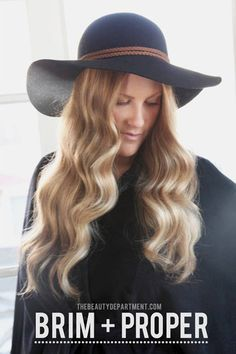 97607f71359 beauty department how to wear a hat Hat Hairstyles
