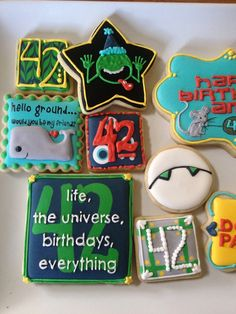 Hitchhikers Guide to the Galaxy Cookies
