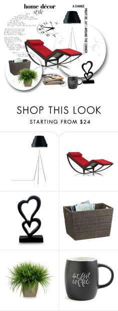 """viva #57"" by bibeviva on Polyvore featuring interior, interiors, interior design, home, home decor, interior decorating, Behance, Cassina, NOVICA and Crate and Barrel"