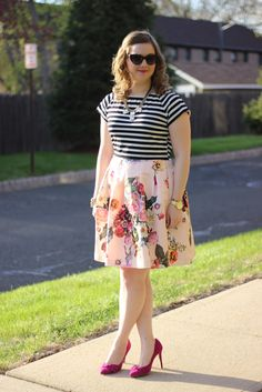 Stripes, Floral, and Discount #TedBaker