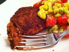 Tupelo Honey: Meatless Monday--Black Bean, Quinoa, & Oat Burgers