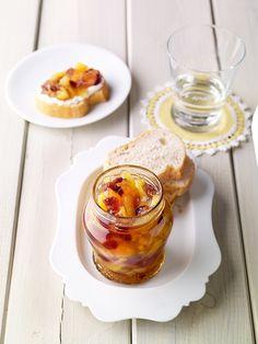 Ananas-Cranberry-Konfitüre, kalorienreduziert -  Fruchtige und farbenfrohe Konfitüre mit Süßungsmitteln aus Stevia