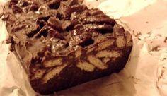Chocolate Log Light (no eggs, no sugar, no butter) - iCookGreek Greek Sweets, Greek Desserts, Party Desserts, Candy Recipes, Sweet Recipes, Dessert Recipes, Chocolate Log, Chocolate Desserts, Sweet Corner