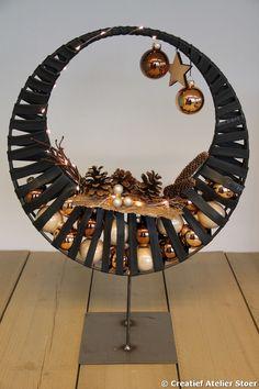 Kerstworkshop Kerstcirkel  www.atelierstoer.nl