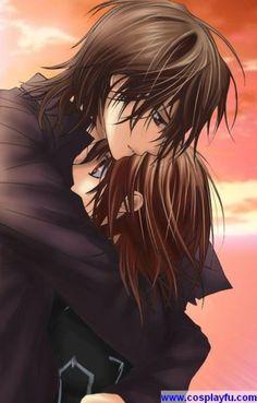 Kaname Kuran & Yuki Kuran(Yuki Cross) - Vampire Knight Anime