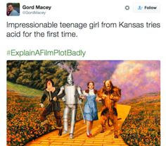 20 Explain a Film Plot Badly Pictures That Will Ruin Movies For You Forever Funny Tweets, Funny Jokes, Hilarious, Movie Plots Explained Badly, Explain A Film Plot Badly, Bad Film, Be With You Movie, Lost In The Woods, Nerd