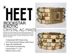 Get 15% off Florida jewelry designer HEET at shopHEET.com with code #LAHEET. This incredible ROCKSTAR EXOTIC CRYSTAL AG MAIZE #bracelet is made from the highest quality #Swarovski Crystal, #leather & #nickelfree #metal.  Buyers & Editorial contact Paige@shopHEET.com  #HEET #jewelry #rocknroll #fashion #accessories #accessory #stack #cuff #wrap #rockstar #exotic #maize #crystal #teal #seafoam #tan #beige #nude #gold #vintage #antique #resort