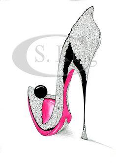 Ebony Shoe - Rarefootage Shoe Designs