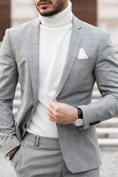 Blazer Outfits Men, Groomsmen Outfits, Mens Fashion Blazer, Suit Fashion, Mens Casual Suits, Stylish Mens Outfits, Mens Suits, Trendy Suits For Men, Gentleman Mode