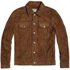 Edwin Suede Rider Jacket