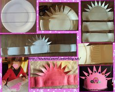 parfait pour la galette Andy Warhol, Pink And Grey Wallpaper, Activities For Kids, Crafts For Kids, St Georges Day, Clever Kids, Pink Accents, New Years Eve Party, Paper Plates