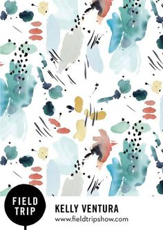 new design show nyc field trip Watercolor Pattern, Abstract Watercolor, Watercolor Illustration, Simple Watercolor, Tattoo Watercolor, Watercolor Trees, Watercolor Animals, Watercolor Landscape, Watercolor Paintings