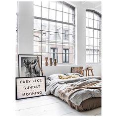 Sunday's.... #bedroom #bed #dreamy #loft #inspiration