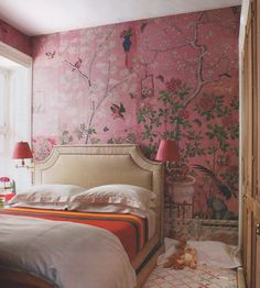 #pink #handpainted #walls