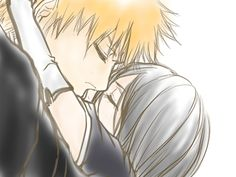 Ichiruki Bleach Ichigo And Rukia, Bleach Manga, Anime Love Couple, I Love Anime, Bleach Couples, Bleach Fanart, Narusaku, Manga Illustration, Anime Couples