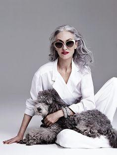 her  First Friend  X ღɱɧღ || Vogue China