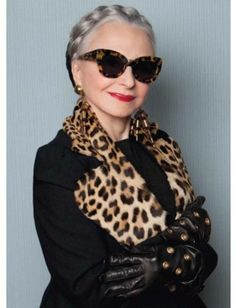 Karen Walker Does Eyewear for the Elderly With Advanced Style : Lucky Magazine