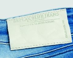 etiqueta de cintura para jeans Replay
